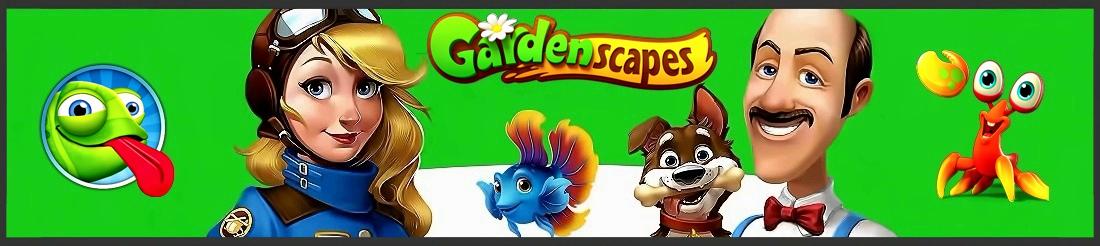 Gardenscapes играть онлайн на русском
