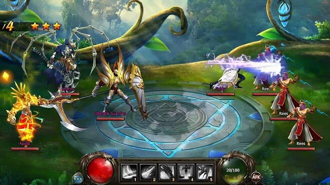 Онлайн игра Dragon Knight