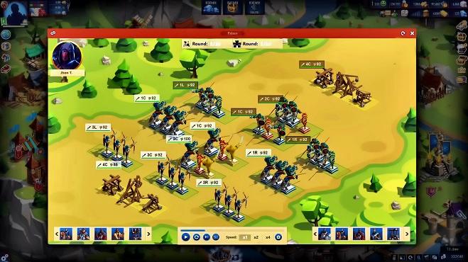 Игра Game of Emperors играть онлайн