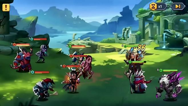 Лига Шторма играть онлайн бесплатно