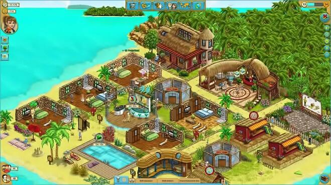 Играть онлайн My Sunny Resort