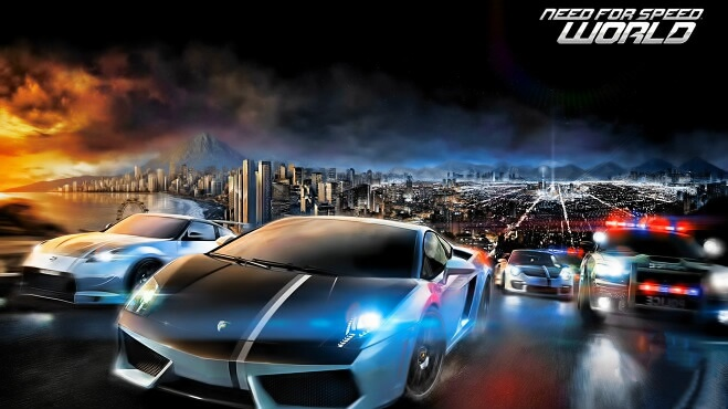 Need for Speed World на русском