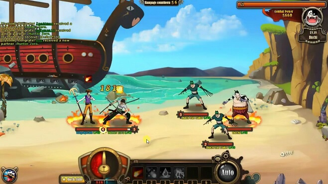 Онлайн игра One Piece Ultimate War