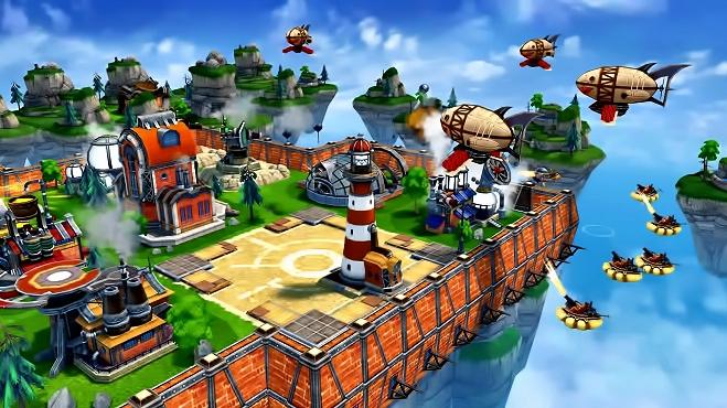 Sky Clash: Lords of Clans играть онлайн