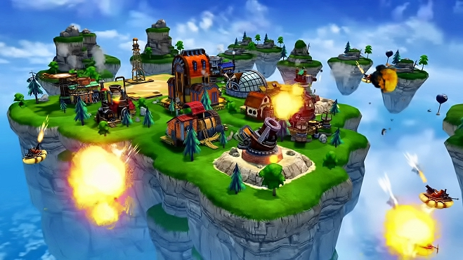 Sky Clash: Lords of Clans играть онлайн
