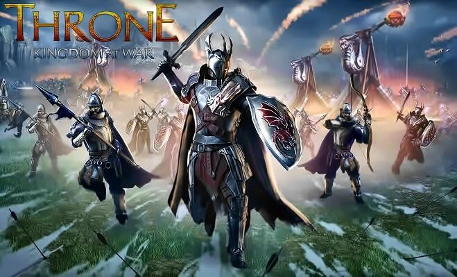 Throne: Kingdom at War браузерная игра
