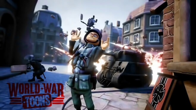 Gameplay World War Toons